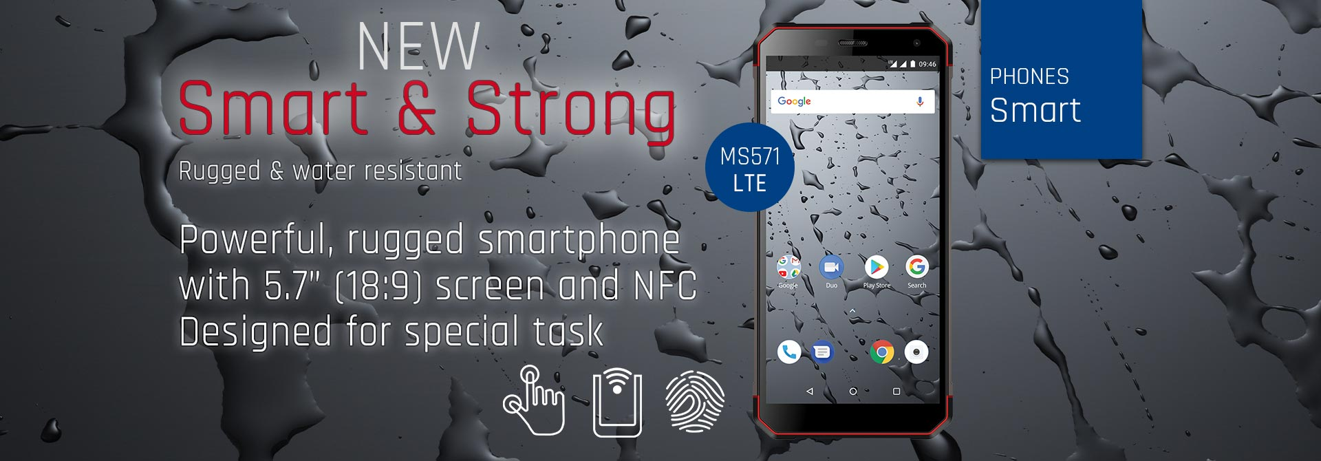 Nowy telefon Smart & Strong MS571 LTE